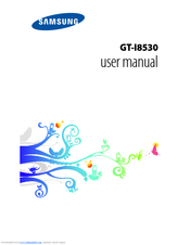 Samsung GT-I8530 User Manual
