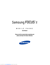 Samsung SGH-I667 User Manual