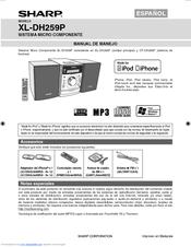 sharp xl dh259p manuals rh manualslib com sharp xl-dh259 manual Sharp View Cam Cameras