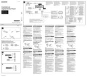 Sony DSX-A30 Installation Manual