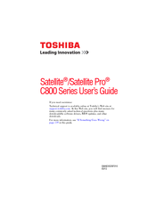 Toshiba C875D-S7220 User Manual