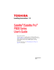 DRIVERS FOR TOSHIBA SATELLITE P870 REMOTE CONTROL MANAGER