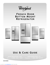 Whirlpool WRF736SDAW Use & Care Manual