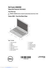 Dell Vostro 2420 Setup And Features Information