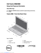 Dell Vostro 3460 Setup And Features Information