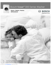 bosch wfmc2201uc nexxt 300 series washer operating care and rh manualslib com  bosch wfmc2201uc/15 repair manual
