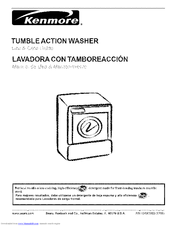 kenmore 4811 3 5 cu ft i e c high efficiency washer manuals rh manualslib com Kenmore Washer and Dryer kenmore tumble action washer parts