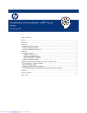 HP DL2x170h - ProLiant - G6 Technology Brief