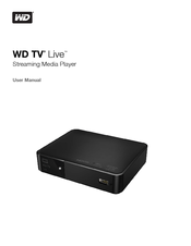 western digital wdbgxt0000nbk manuals rh manualslib com western digital live duo manual western digital tv live manual