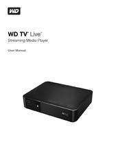 WD TV Live Hub Media Center User Manual