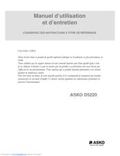 asko d5220 manuals rh manualslib com