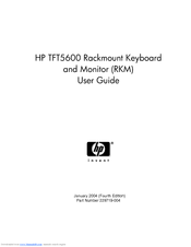 HP 5600 - Compaq TFT RKM User Manual