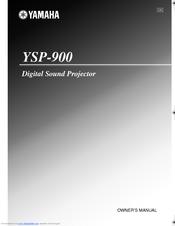 yamaha digital sound projector ysp 900 manuals rh manualslib com yamaha digital sound projector ysp-900 manual yamaha soundbar ysp-900 manual