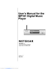 netgear mp101na wireless digital music player manuals rh manualslib com User Guide Template User Guide Template