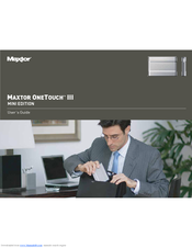 Maxtor onetouch 3 user manual.