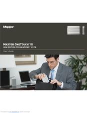 Maxtor one touch 3 manual.