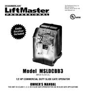 chamberlain mega slide owner s manual pdf download