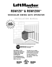 chamberlain rswv manuals