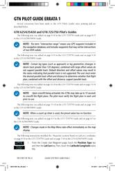 Garmin GTN 750 Pilot's Manual