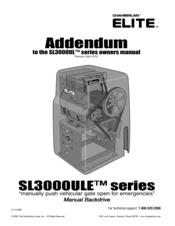 Chamberlain Elite Sl3000ul Manuals