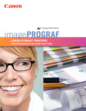 Canon iPF500 - imagePROGRAF Color Inkjet Printer Brochure
