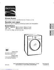 Kenmore 796.9027#9 Series Use And Care Manual