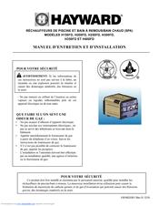 Hayward H200fd Manuals
