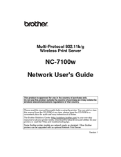 DRIVERS BROTHER NC-2100H