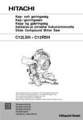 hitachi c 12rsh manuals rh manualslib com Hitachi C12RSH Parts Hitachi C12LSH Parts
