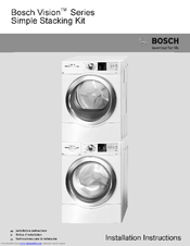 Bosch Wtvc5330us 6 7 Cu Ft Vision 500 Series Electric