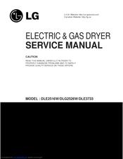 lg dle2512w service manual pdf download rh manualslib com