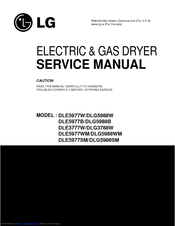 lg dle3777w service manual pdf download rh manualslib com lg dryer maintenance manual lg dryer dle2516w service manual