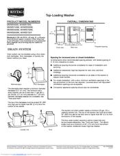 maytag bravos mvwb300w manuals rh manualslib com Owner's Manual Maytag Washers Bravo 'S Maytag Bravos Washer Complaints
