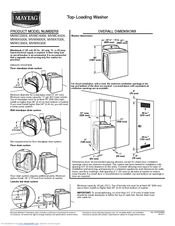 maytag bravos 300 dryer manual