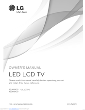 LG 32LM3400 Owner's Manual