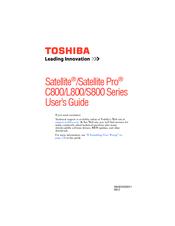 Toshiba C875-S7103 User Manual