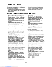 washing machine door seal replacement instructions