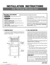 Frigidaire Plmvz169hc 1 6 Cu Ft Microwave Oven Manuals
