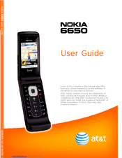 nokia 6650 fold user manual pdf download rh manualslib com Nokia with Rotating LCD Nokia 6550