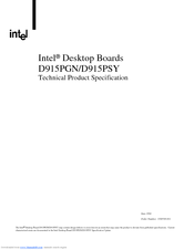INTEL D915PGN AUDIO 64BIT DRIVER