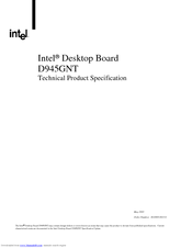 intel d945gnt manuals rh manualslib com intel d945gnt d945psn manual D945GNT for Memory