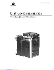 konica minolta bizhub 363 manuals rh manualslib com bizhub c3110 user guide bizhub c284e user guide