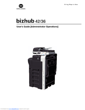konica minolta bizhub 42 manuals rh manualslib com bizhub c458 user guide konica user guide