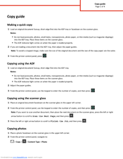 Lexmark CX310 series Copy Manual