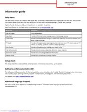 Lexmark CX310 series Information Manual