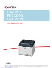 kyocera ecosys fs 4020dn manuals rh manualslib com John Deere 5020 Repower 5020 Power Supply