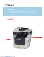 Kyocera ECOSYS FS-3540MFP Printer KX/XPS Download Drivers