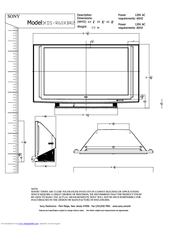 sony bravia xbr tv manual