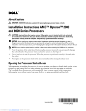 dell poweredge 6950 installation instructions manual pdf download rh manualslib com