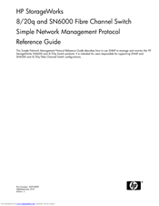 HP StorageWorks SN6000 Reference Manual
